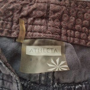 Athleta Pants - ATHLETA DARK GRAY BETONA BOYFRIEND CARGO PANTS 8